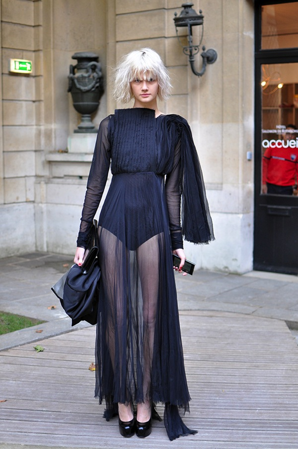 Fashion week Style street altamira in paris for lady